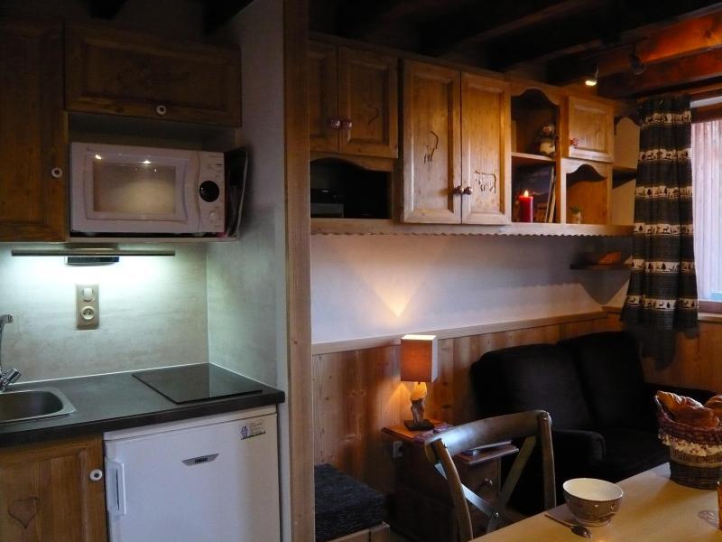 Location au ski Studio 3 personnes (standard) - Résidence les Edelweiss - Champagny-en-Vanoise - Cuisine