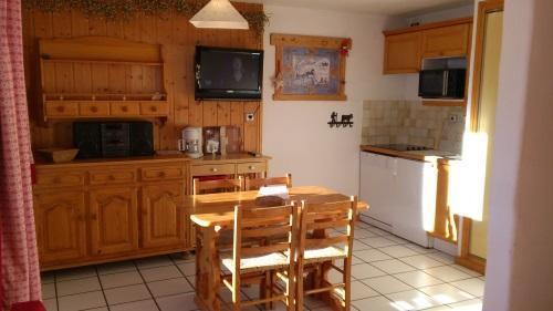 Location au ski Studio 4 personnes - Résidence les Edelweiss - Champagny-en-Vanoise - Kitchenette