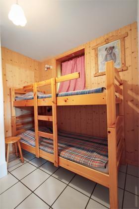 Location au ski Studio 4 personnes - Residence Les Edelweiss - Champagny-en-Vanoise - Lits superposés
