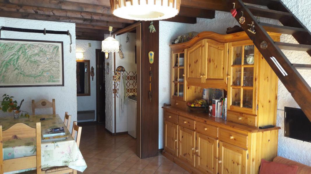 Location au ski Appartement duplex 3 pièces 6 personnes (006CL) - Résidence les Primevères - Champagny-en-Vanoise - Table