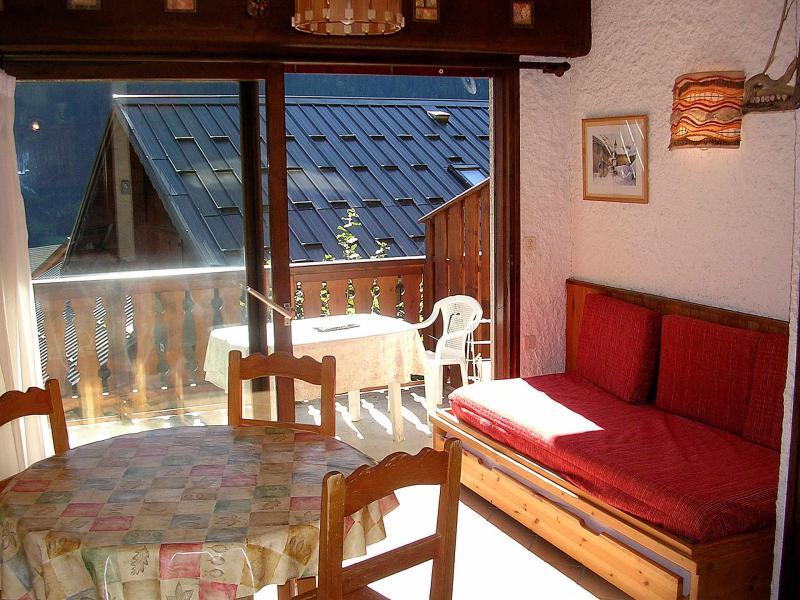 Location au ski Studio coin montagne 4 personnes (002CL) - Résidence les Primevères - Champagny-en-Vanoise - Séjour