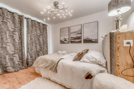 Rent in ski resort 7 room triplex chalet 10-12 people - Chalet Alideale - Champagny-en-Vanoise - Double bed