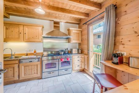 Rent in ski resort 7 room triplex chalet 10-12 people - Chalet Alideale - Champagny-en-Vanoise - Kitchenette