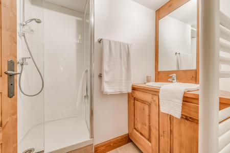 Rent in ski resort 7 room triplex chalet 10-12 people - Chalet Alideale - Champagny-en-Vanoise - Shower