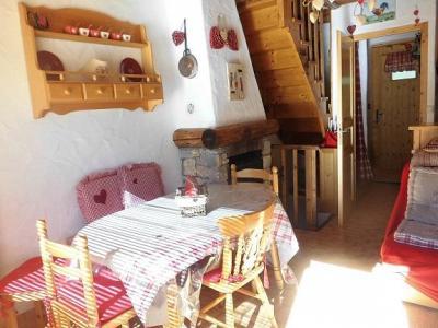 Location au ski Chalet 4 pièces 6 personnes (Ancolie) - Chalet Ancolie - Champagny-en-Vanoise - Coin repas
