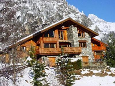 Location au ski Chalet Arkai - Champagny-en-Vanoise - Extérieur hiver