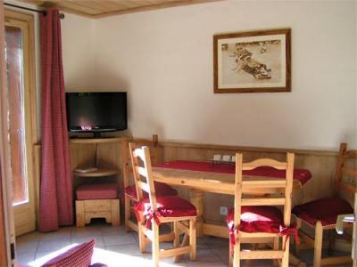 Location au ski Appartement 3 pièces 4 personnes - Chalet Arkai - Champagny-en-Vanoise - Coin repas