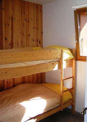 Location au ski Appartement 3 pièces 4 personnes - Chalet Arkai - Champagny-en-Vanoise - Lits superposés
