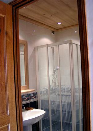 Location au ski Studio 2 personnes - Chalet Arkai - Champagny-en-Vanoise - Salle d'eau