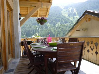 Location au ski Chalet 6 pièces 14 personnes - Chalet Blanche Neige - Champagny-en-Vanoise - Terrasse