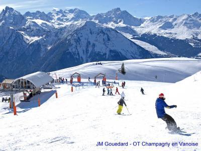 Location au ski Chalet Carella - Champagny-en-Vanoise - Extérieur hiver