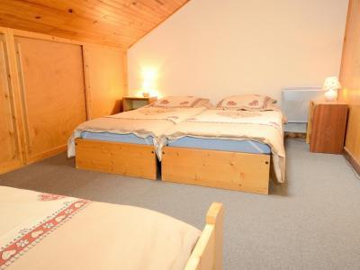Location au ski Chalet Carella - Champagny-en-Vanoise - Chambre mansardée