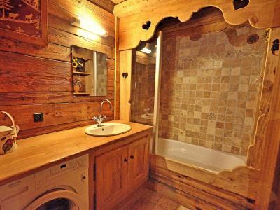 Rent in ski resort Chalet Champagny CPV01 - Champagny-en-Vanoise - Bath-tub