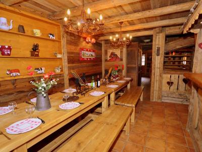 Rent in ski resort Chalet Champagny CPV01 - Champagny-en-Vanoise - Dining area