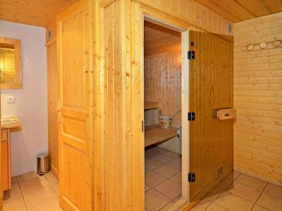 Location au ski Chalet Côte Arbet - Champagny-en-Vanoise - Sauna