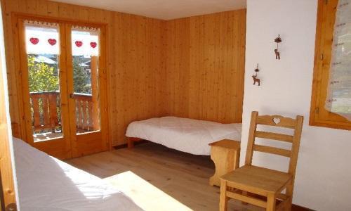 Location au ski Appartement 4 pièces 8 personnes - Chalet Cristal - Champagny-en-Vanoise - Chambre