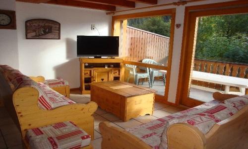 Location au ski Appartement duplex 5 pièces 10 personnes - Chalet Cristal - Champagny-en-Vanoise - Séjour