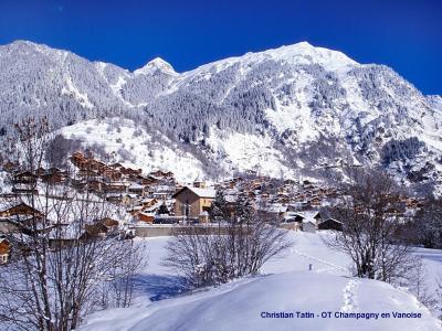 Location au ski Chalet Diamant - Champagny-en-Vanoise - Extérieur hiver