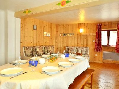 Location au ski Chalet Diamant - Champagny-en-Vanoise - Table