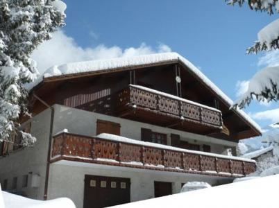 Location au ski Chalet Estelann - Champagny-en-Vanoise - Extérieur hiver