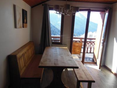 Rent in ski resort 2 room apartment 5 people (014CL) - Chalet Fleur de Neige - Champagny-en-Vanoise - Living room