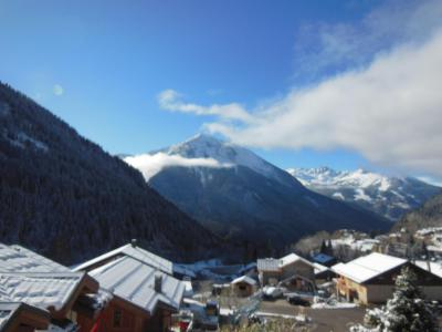 Rent in ski resort 2 room apartment 5 people (014CL) - Chalet Fleur de Neige - Champagny-en-Vanoise - Winter outside