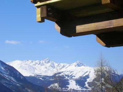 Location au ski Chalet quadriplex 15 pièces 20 personnes - Chalet Grand Arbet - Champagny-en-Vanoise - Extérieur hiver