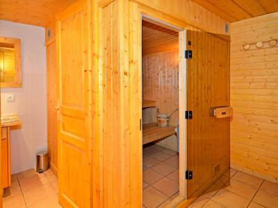 Rent in ski resort Chalet Grand Arbet - Champagny-en-Vanoise - Sauna