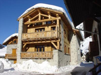 Location au ski Chalet L'edelweiss - Champagny-en-Vanoise - Extérieur hiver
