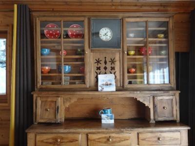 Rent in ski resort 5 room duplex chalet 8-10 people - Chalet la Sauvire - Champagny-en-Vanoise - Cupboard