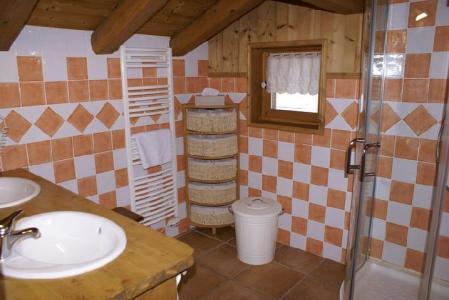 Location au ski Chalet duplex 5 pièces 8-10 personnes - Chalet La Sauvire - Champagny-en-Vanoise - Salle d'eau