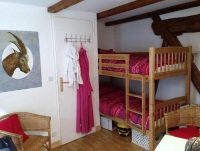 Location au ski Appartement 2 pièces mezzanine 6 personnes (10) - Chalet Le Dahu - Champagny-en-Vanoise - Coin nuit