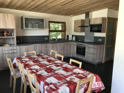Rent in ski resort 5 room chalet 10 people (CH) - Chalet les Lauzes - Champagny-en-Vanoise - Dining area