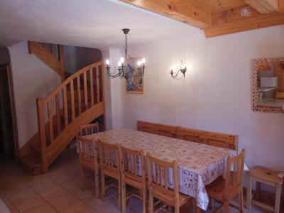 Location au ski Appartement 6 pièces 10 personnes (CH) - Chalet les Soldanelles - Champagny-en-Vanoise - Table
