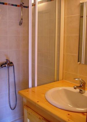 Location au ski Appartement 6 pièces 10 personnes - Chalet Les Soldanelles - Champagny-en-Vanoise - Salle d'eau