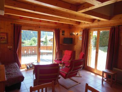 Location au ski Chalet les Soldanelles - Champagny-en-Vanoise - Séjour