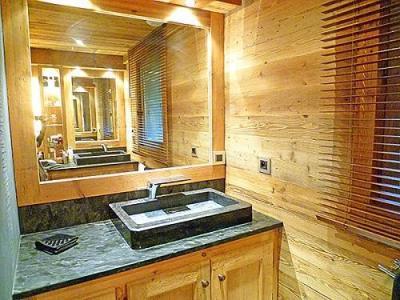 Location au ski Chalet triplex 6 pièces 10 personnes - Chalet Pearl - Champagny-en-Vanoise - Salle d'eau
