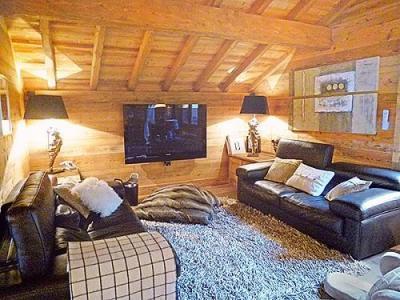 Location au ski Chalet triplex 6 pièces 10 personnes - Chalet Pearl - Champagny-en-Vanoise - Séjour
