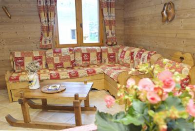 Location au ski Chalet quadriplex 5 pièces 8 personnes - Chalet Rosa Villosa - Champagny-en-Vanoise - Séjour