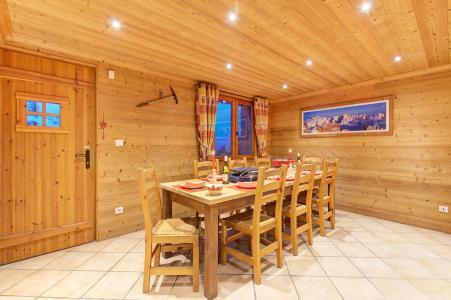 Location au ski Chalet Rosa Villosa - Champagny-en-Vanoise - Salle à manger