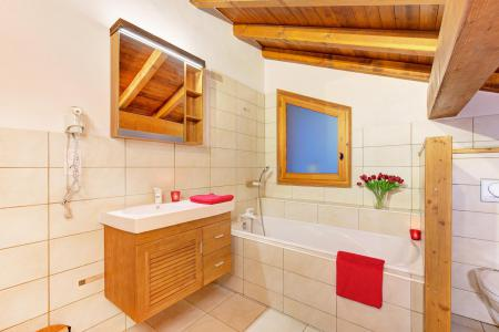Location au ski Chalet Rosa Villosa - Champagny-en-Vanoise - Salle de bains