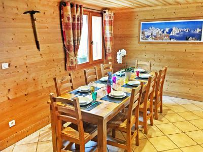 Location au ski Chalet Rosa Villosa - Champagny-en-Vanoise - Table