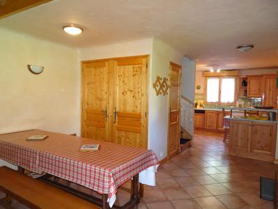 Rent in ski resort 6 room triplex apartment 12 people - Chalet Soldanelles - Champagny-en-Vanoise - Dining area