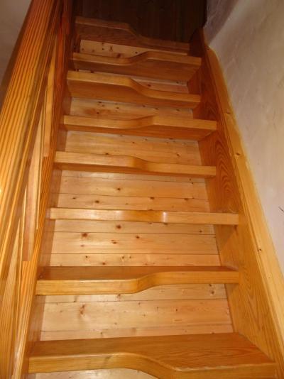 Rent in ski resort 6 room triplex apartment 12 people - Chalet Soldanelles - Champagny-en-Vanoise - Step ladder
