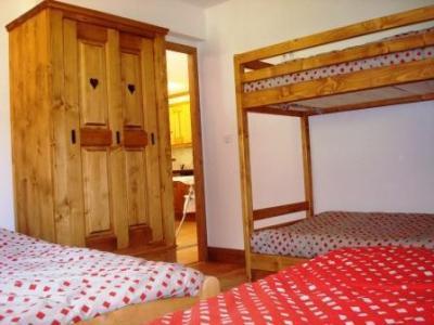 Location au ski Appartement 4 pièces 8-10 personnes - Chalets De La Chiserette - Champagny-en-Vanoise - Lits superposés