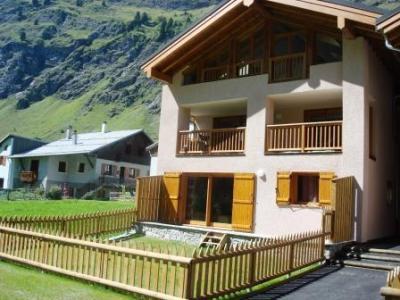Location au ski Appartement 4 pièces 8-10 personnes - Chalets De La Chiserette - Champagny-en-Vanoise - Extérieur hiver