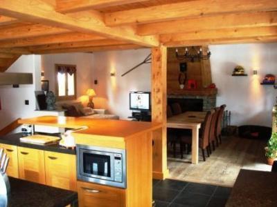 Location au ski Chalet 6 pièces 14 personnes - Le Chalet Blanche Neige - Champagny-en-Vanoise - Coin repas
