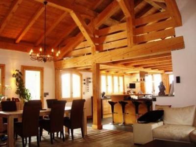 Location au ski Chalet 6 pièces 14 personnes - Le Chalet Blanche Neige - Champagny-en-Vanoise - Salle à manger