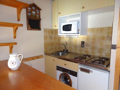 Rent in ski resort 3 room apartment 4 people (D18) - Les Hauts de Planchamp - Champagny-en-Vanoise - Open-plan kitchen
