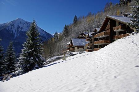 Location au ski Les Hauts de Planchamp - Ancoli - Champagny-en-Vanoise - Extérieur hiver